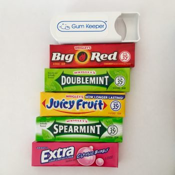 Gum Keeper and assorted Wrigley's Stick Gum