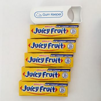 Gum Keeper with Juicy Fruit Gum